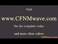 Euro CFNM mature cougars spoil flannel