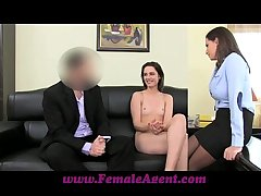 FemaleAgent Anal creampie be incumbent on Romanian cutie