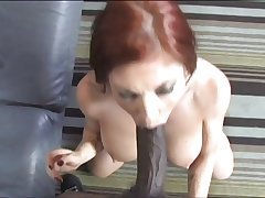Mature Redhead Interracially Penetrated Accouterment 1