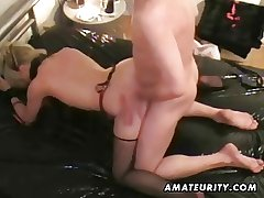 Grown-up mediocre housewife cumshot compilation