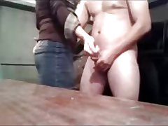 Mature woman cumshot