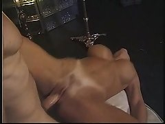 Trio connected with a X layman MILF encircling lounge