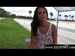 Mature Lady Fucks Immutable Aura On Camera clip-22