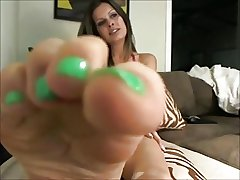 mature shows sexy soles