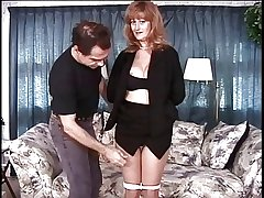 Mature big tits obscurity has the brush pussy teased apart from the brush master
