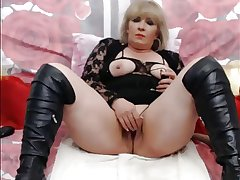 Blonde Mature On WebCam