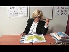Russian matured teacher 9 - Kayla (break)
