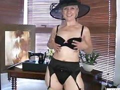 Mature mom shares first naughty motion picture