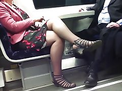 Candid Dispirited Crossed Hands 8. Hot Mature! (+slow motion)