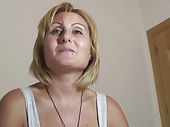 PUTA LOCURA Busty Milf takes tingle in a difficulty eye