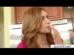 Horny Milfs (Brianna Ray & Kristen Cameron & Lakota Summer) Lick And Kiss Their Pussies mov-