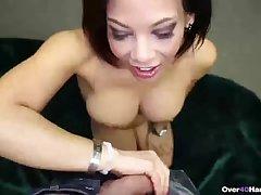 Super sexy adult woman handjob