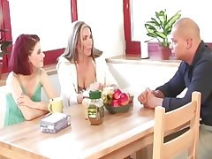 Mature increased by wholesale threesome