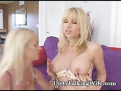 Mature Seduces University Girl