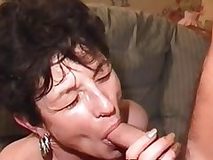 Queasy Mature Milf in Stockings Doubles Up