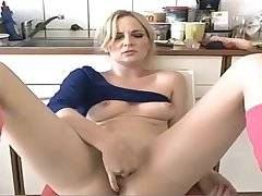 Milf plays with her pussy beyond cam
