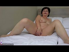 OldNanny Ancient lesbian mature masturbate her pussy with sextoy