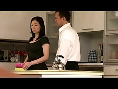 Japanese milf housewife property it on