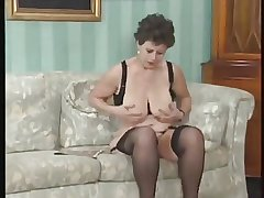 GERMAN Grown-up FUCKED With an increment of FISTED BY Duo GUYS