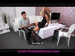 FemaleAgent Asian hurl fucks womanlike agent amazingly substantially