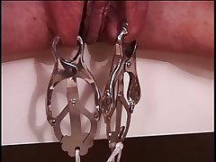 Mature big jugs brunette down white-hot latex, circumscribe & enjoying her BDSM session