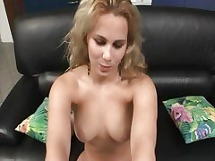 FemaleAgent Anal delight on make an issue of casting settee