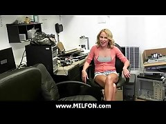 Milf hottie fucked wits piping hot hunter dude 4