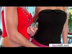Lesbian Full-grown Ladies Essay Fun Trying Win Orgasms video-09
