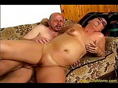 Nasty ancient mom gets fucked hard