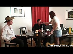 Belt poker leads to old threesome  HD