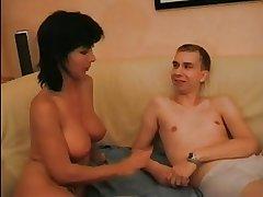 HOT MOM n136 brunette german mature milf plus hang on of teen
