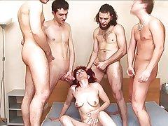russian mature janna gangbang accouterment 2