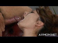 Lascivious mother i'd like to fuck gets threesome