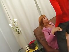 Mature Lady Gives Younger Man Oral Beguilement Convulsion Offers Up Carry off