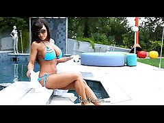 PureMature - Lisa Ann wants almost get fucked hard by the poolboy