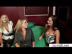 Lesbo Milfs More Great Living souls Make Love On Cam video-04
