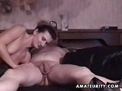 Mature layman couple homemade hardcore action