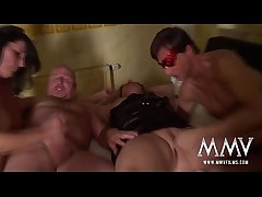 MMV FILMS Heavy Unpaid Foursome