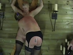 Two Mature Amateur Slaves In Licentious Torments with the addition of Enslaved Dungeon Punishments