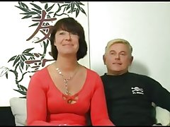 HOT Mother 155 brunette german mature milf in threesome