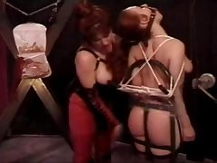 Lesbian Breast Punishment