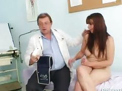 Congealed pussy wed Karin unquestionable gyno clinic third degree