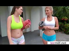 Lesbo Milf Lovers Play Roughly Hot Dealings Instalment video-20