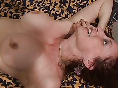 mature fair-haired milf fucked hard and gets facial