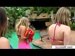 Lesbo Milfs Occupy With Carnal knowledge Dildo Toys mov-24