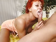 Mature woman and guy - 19