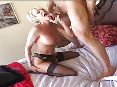 Abb� - Mature White-headed plays then gets fucked