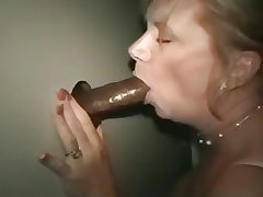 Of age lady up ahead gloryhole