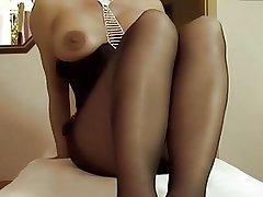 Of age masturbating fro panyhose 01