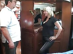 mature British blonde fucking om a row-boat